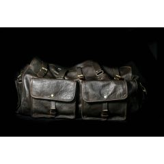 mens leather carry on bag