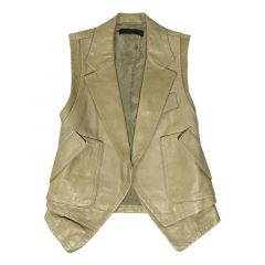 sleeveless coat vest