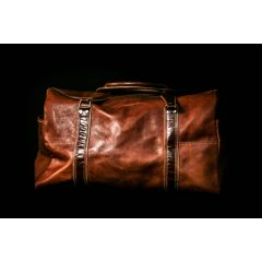 Glide Leather Hand Luggage Bag front view