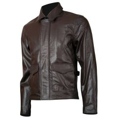 Indiana Jones Leather Jacket front view