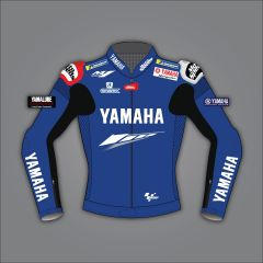 yamaha leather riding jacket