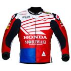 honda leather moto jacket